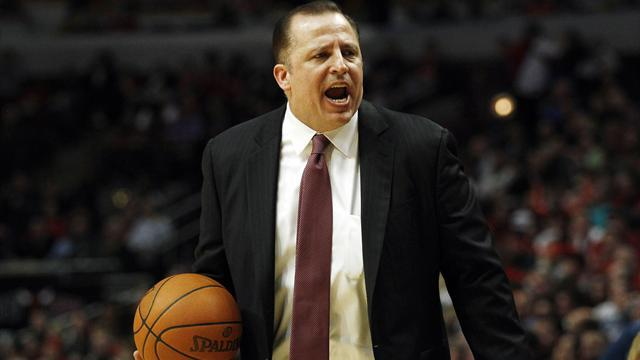 Bulls coach Thibodeau receives four-year extension
