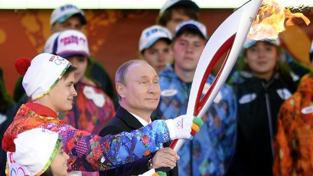 Winter Sports - High stakes for Putin as his Olympic dream nears