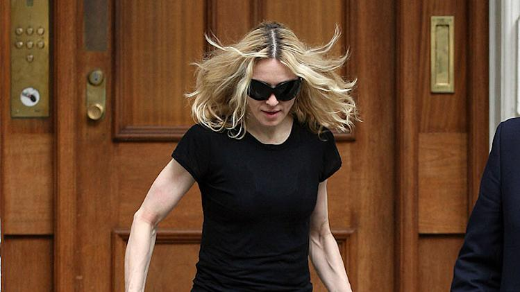 Madonna Leavesthe Gym