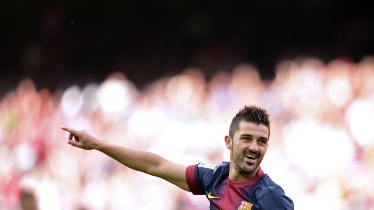 David Villa - Barcelona to Atletico Madrid