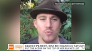 Teen with Stage Four Cancer Gets a Kiss From Channing Tatum