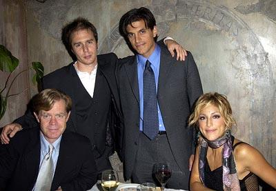 William H. Macy, Sam Rockwell, Andrew Davoli and Jennifer Esposito Welcome To Collinwood Dinner Toronto Film Festival - 9/7/2002