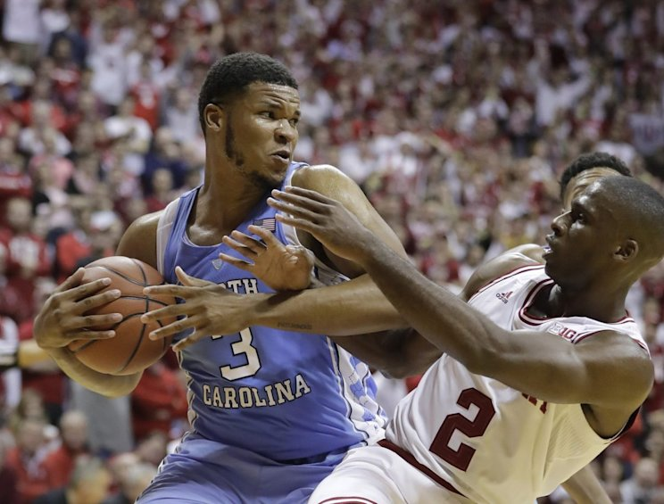 Nineteen days after upsetting Kansas, the Hoosiers toppled another elite team (AP)