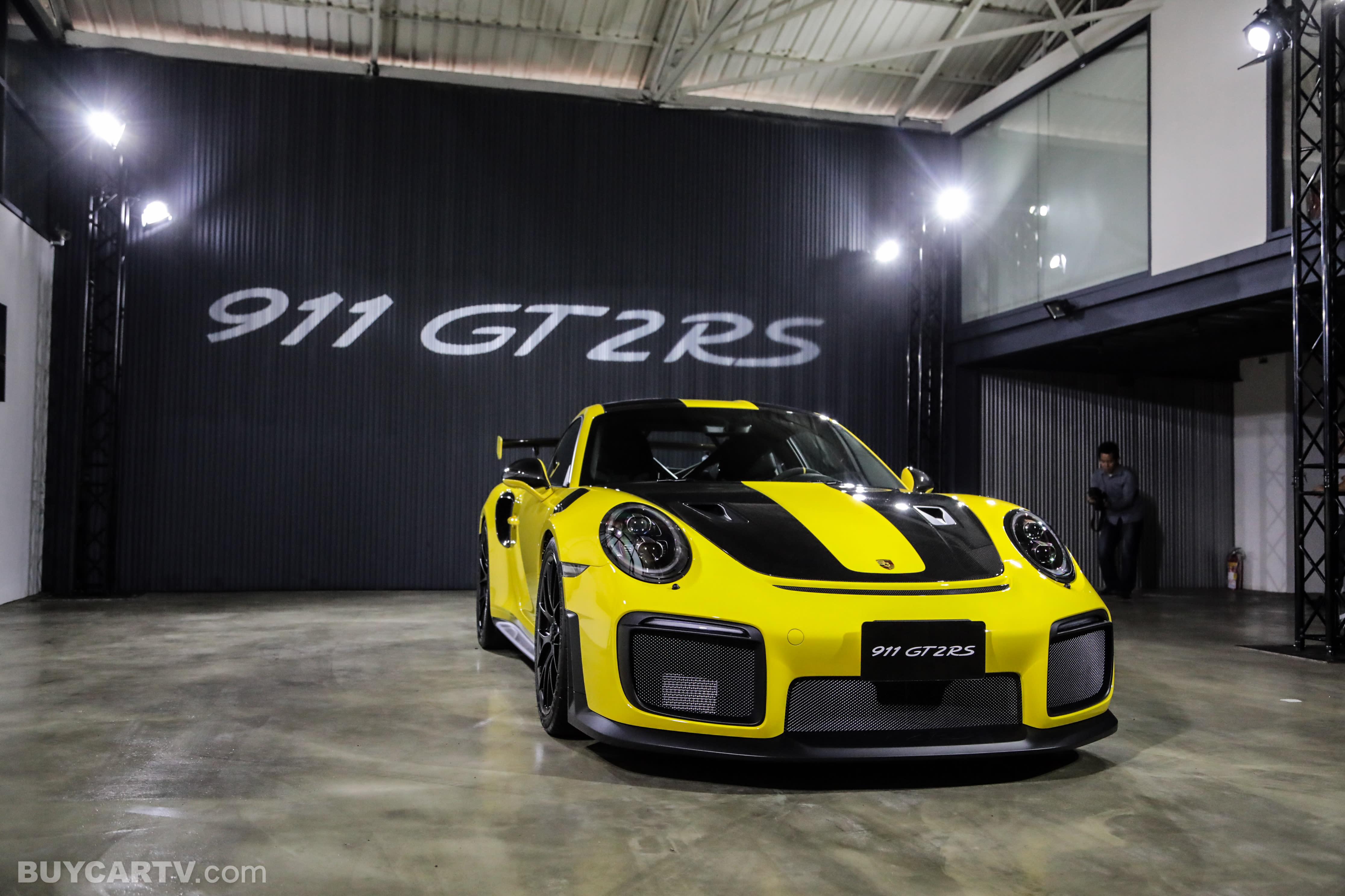 地表最強911!Porsche 911 GT2 RS 強勢抵台!