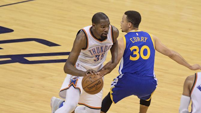 NBA Playoffs: Warriors face Thunder in Game 4 with their season on the brink