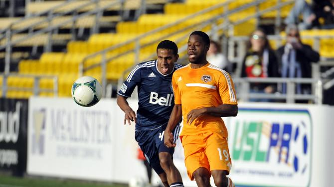 Vancouver Whitecaps v Houston Dynamo -Carolina Challenge Cup