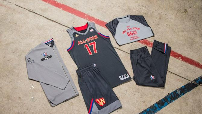 NBA All-Star Game 2017 jerseys: Uniforms are more plain this time around