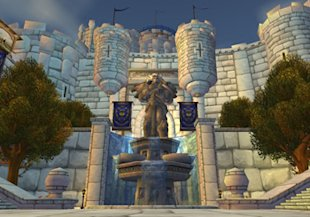 World of Warcraft's Stormwind Keep For Sale at the Auction House image stormwind castle