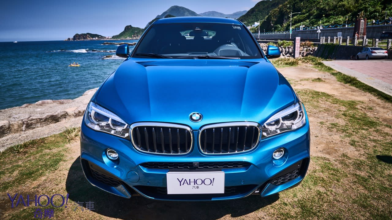 【新車圖輯】悍?那是隱藏在舒適底下的王者霸氣!BMW X6 xDrive35i M Sport海灣試駕