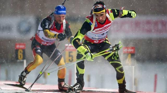 Biathlon - Fourcade imperious as France claim relay win
