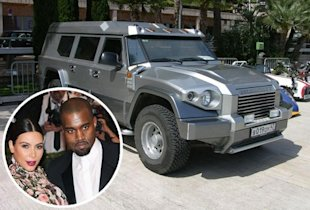 Kim Kardashian, Kanye West and their grenade-proof SUV