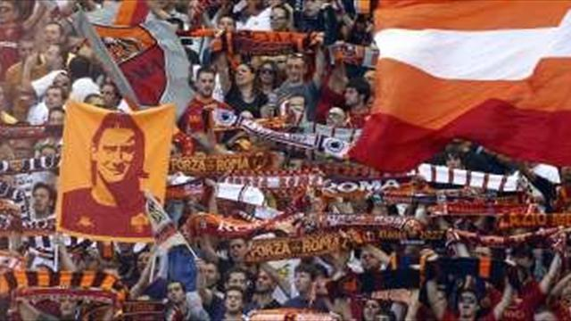 Serie A - Roma fans call for Andreazzoli to go