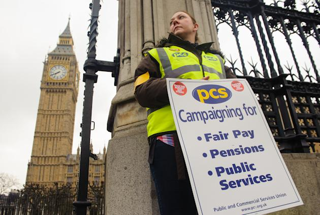 Public sector workers won't be getting a pay rise any time soon