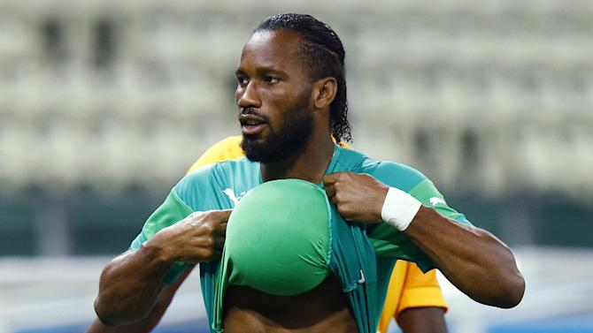 Premier League - Manchester City deny Drogba interest