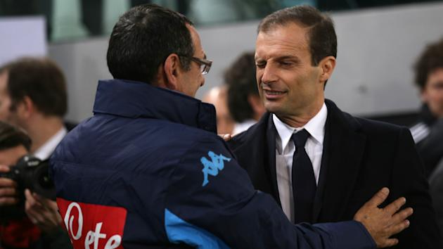 Juventus boss Massimiliano Allegri stuck up for Serie A rivals Napoli and Maurizio Sarri after Aurelio De Laurentiis's rant.