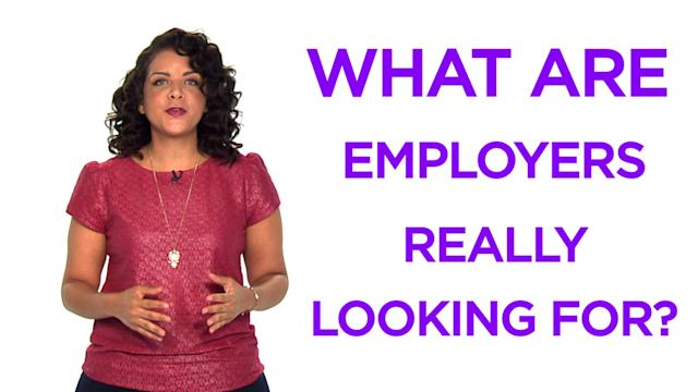 Money Minute: What employers are really looking for