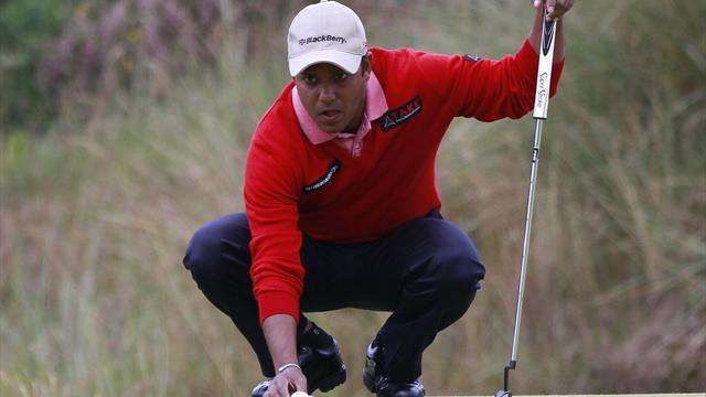 Golf - Chowrasia's wife misses best round