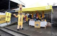 Britain Football Soccer - Sutton United Media Day - FA Cup Fifth Round Preview - The Borough Sports Ground - 16/2/17 General view of merchandise on sale at The Borough Sports Ground during the media day Action Images via Reuters / Matthew Childs Livepic