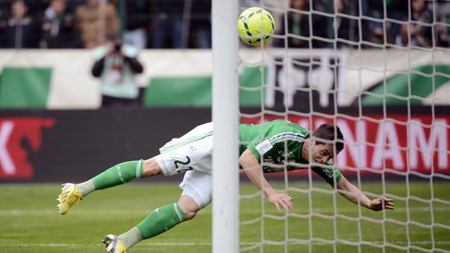 Ligue 1 - Saint-Etienne beat Evian to go third