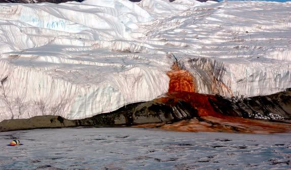 Blood Falls, Antarctica.