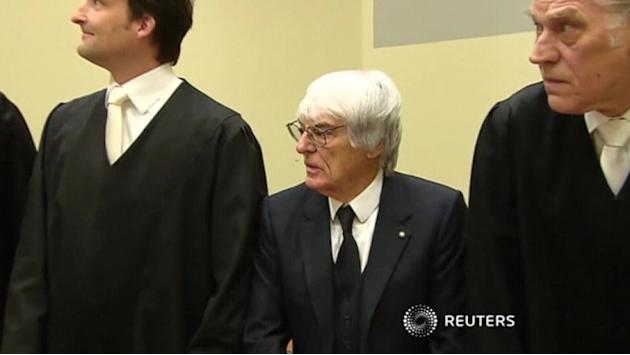 F1's Ecclestone goes on trial