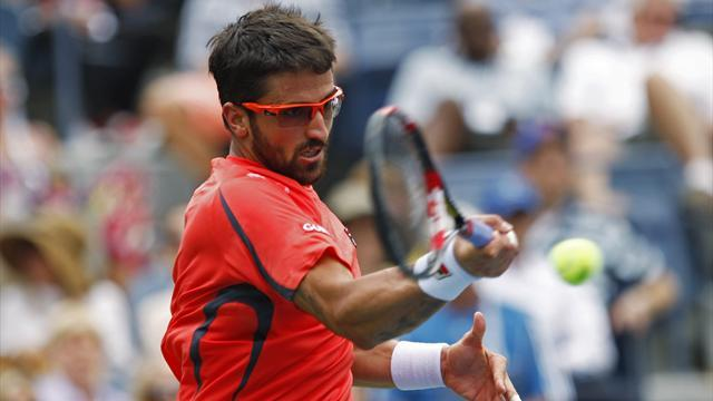 Tennis - Tipsarevic upset by Dimitrov in Monte Carlo
