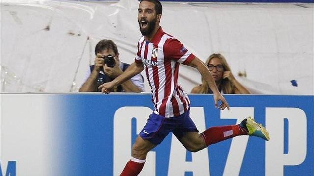 Liga - Turkey playmaker Arda extends Atletico contract to 2017