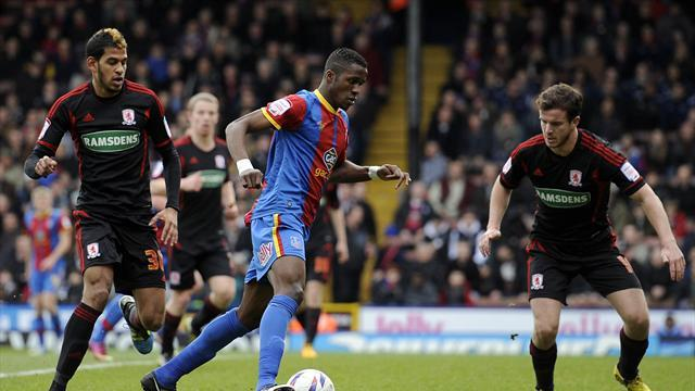 Football - Zaha makes a difference - Holloway