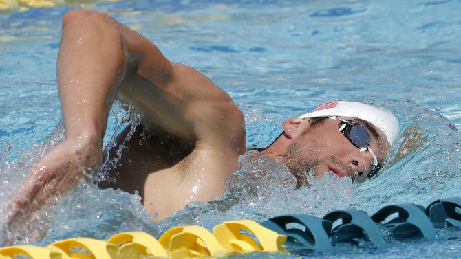 Phelps taking different approach in comeback