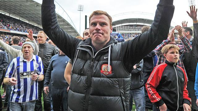 Championship - Flitcroft signs Barnsley deal after great escape