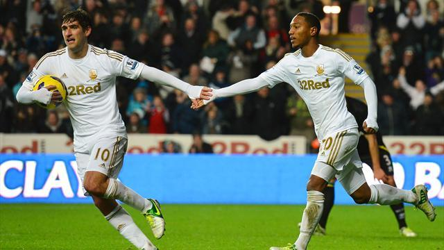 Premier League - Classy Swansea brush aside Stoke