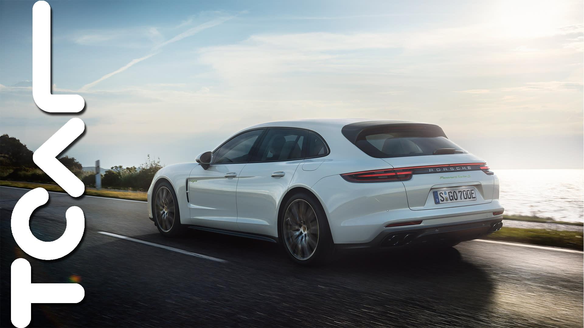 強悍美臀 Porsche Panamera Turbo S E-Hybrid Sport Turismo 海外試駕 - TCAR