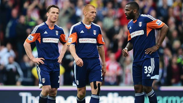 Premier League - Fulham relegated after lacklustre loss