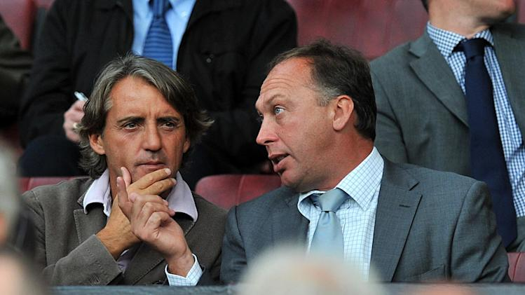 David Platt, right, said Manchester City are yet to hit form this season