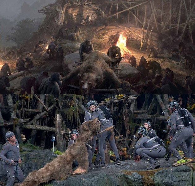 39 dawn of the planet of the apes 39 production designer on the 39 evolved thinking 39 of the sets - The worlds biggest rooftop farm nature reclaims its territory ...