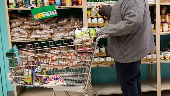 What it's really like to feed your family from a food pantry