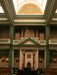 The Newfoundland and Labrador house of assembly was the second-most active provinical legislature in the country in 2012.