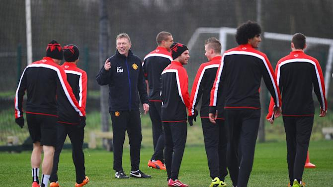 Manchester United Training Session and Press Conference