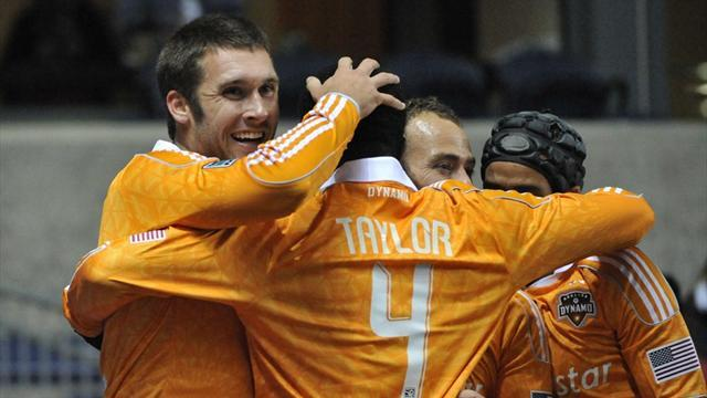World Football - Bruin double douses Fire, puts Dynamo into semis