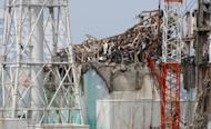 """The No. 3 reactor building, pictured in May 2012, at the stricken Fukushima nuclear power plant. Japanese officials and Tokyo Electric Power ignored the risk of an atomic accident because they believed in the """"myth of nuclear safety"""", a government-backed report on the Fukushima crisis said Monday"""