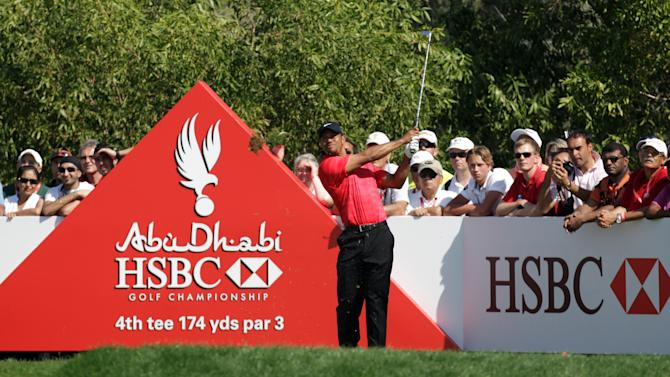 The Abu Dhabi HSBC Championship was held in January with the participation of Tiger Woods.