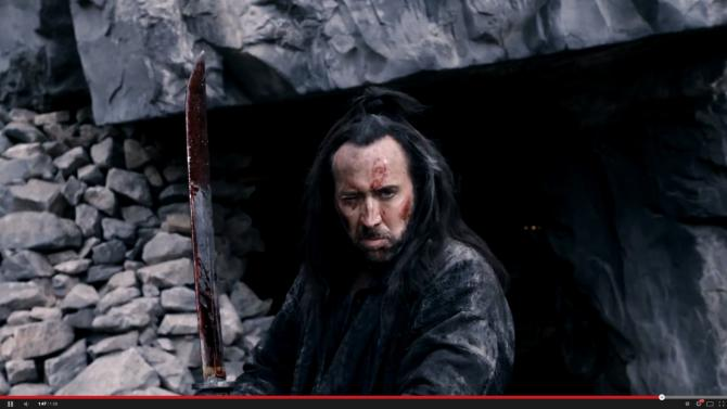 "In ""Outcast,"" Nicolas Cage plays a former crusader who comes to the aid of the heirs to the Chinese throne."