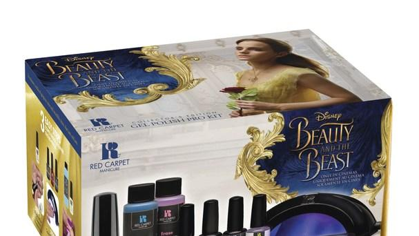 "Red Carpet Manicure Limited-Edition ""Beauty & the Beast Collection"" In Partnership with Walt Disney Company"