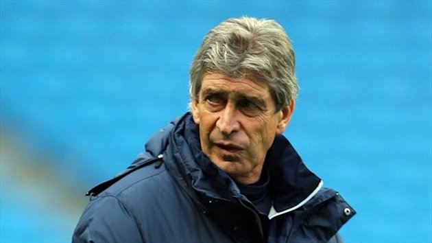 Manuel Pellegrini was not happy with his defence