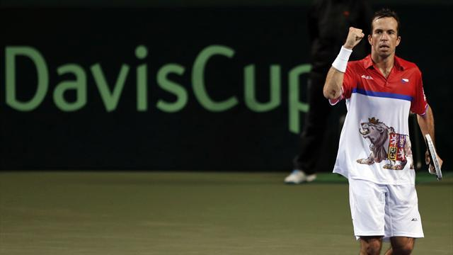 Davis Cup - Stepanek and Rosol put Czechs 2-0 up in Japan