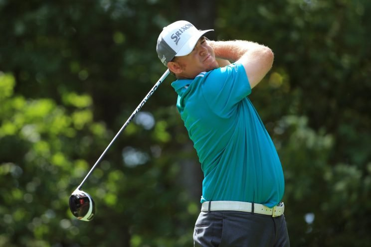 J.B. Holmes is powering his way around Crooked Stick. (Getty Images)