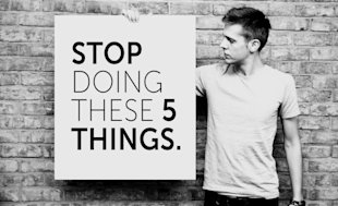 Want to Sell More? Stop Doing These 5 Things image stop doing 5 things