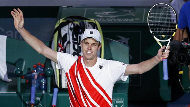 Tennis - Querrey looks to down Djokovic again at Indian Wells