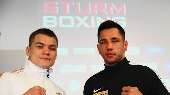 Felix Sturm v Fedor Chudinov - Press Conference