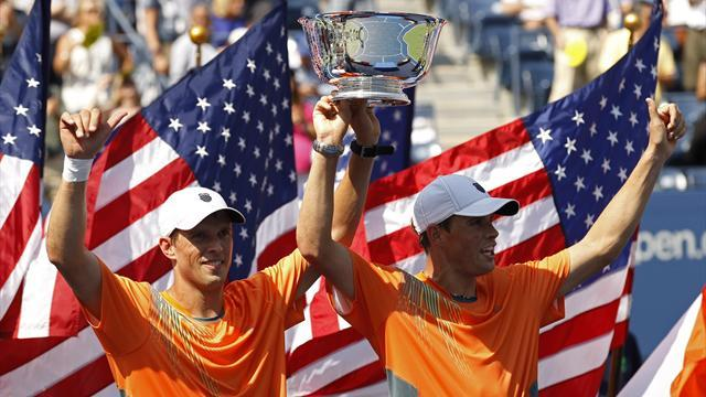 Bryan brothers make history with US Open title